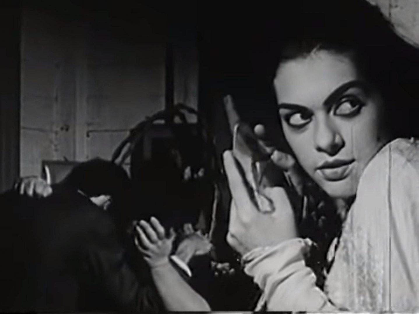 Still from the Cuban music video La tísica, Grupo Experimental Cubanacán-ICAIC.
