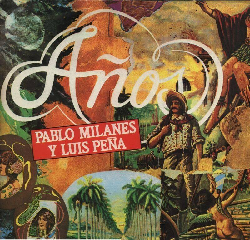 Portada: Pablo Milanés Años (I) (1983)
