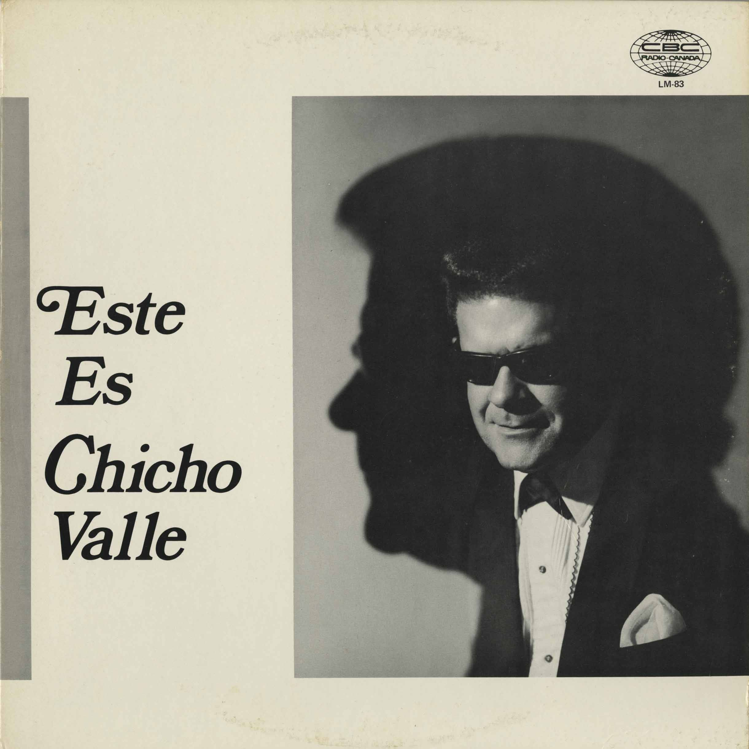 "Portada frontal del album ""Este es Chicho Valle"" (1970). Foto: Museum of Canadian Music"