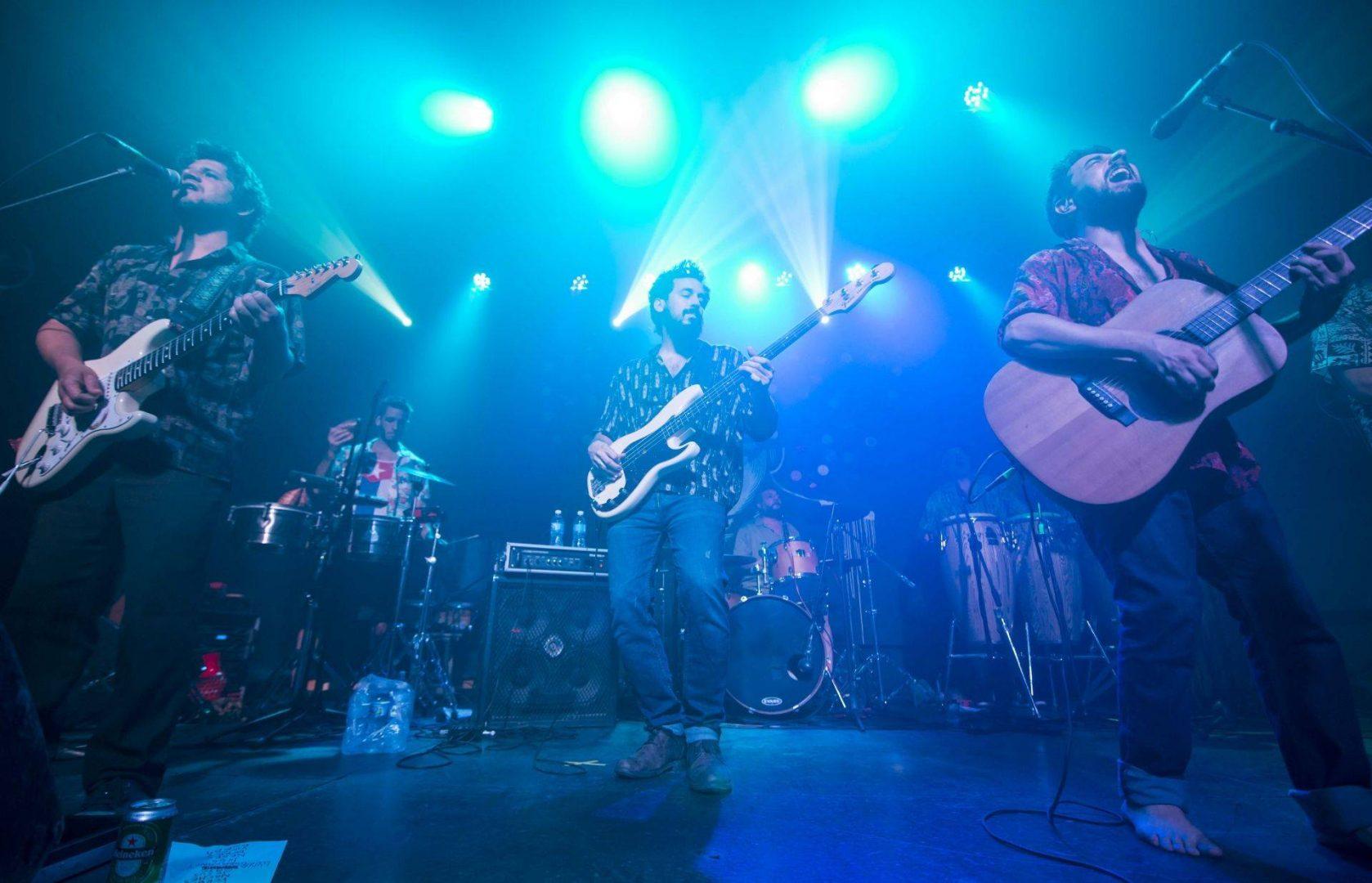 Concert by the Argentine band Los Espíritus at the Cuban Art Factory, November 8, 2018. Photo: Ana Lorena Gamboa.
