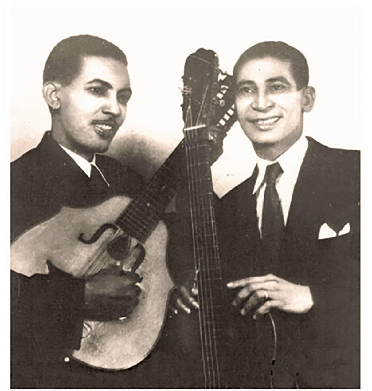 Francisco Repilado and Lorenzo Hierrezuelo, members of the legendary duo Los Compadres. Photo: Smoke Graphic.