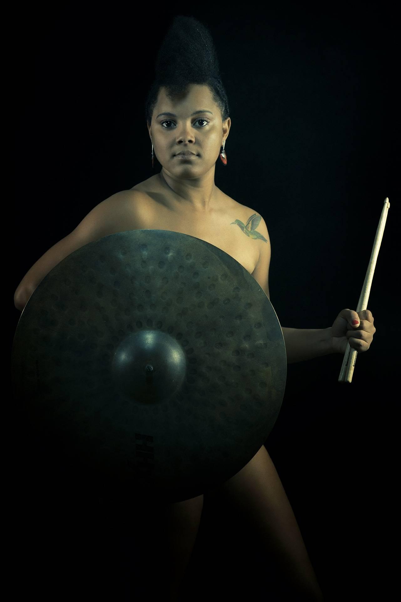 Yissy García, expo +Retratos. Foto: Danay Nápoles.