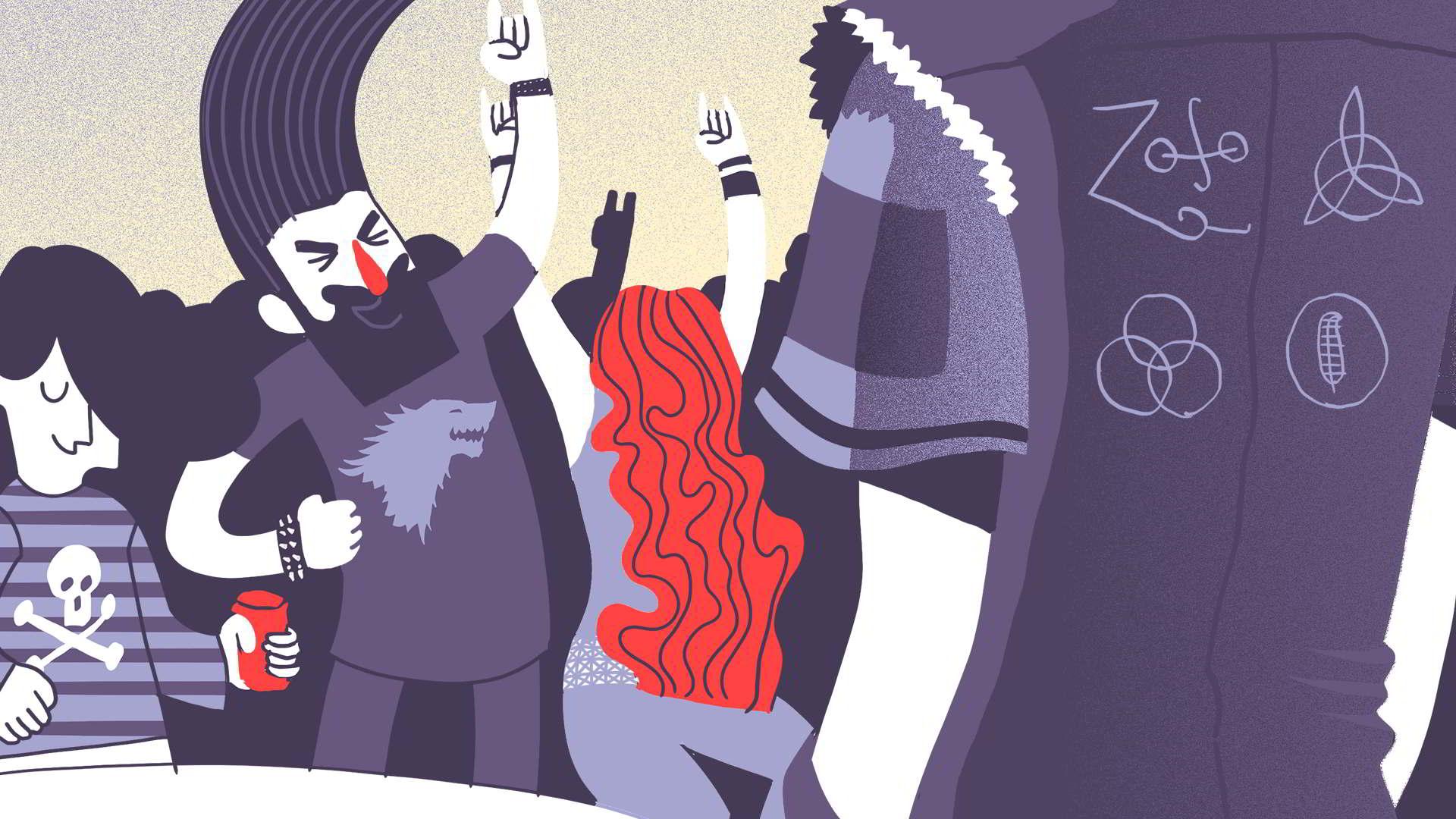 Submarino Amarillo. Ilustración: Mayo Bous / Magazine AM;PM.