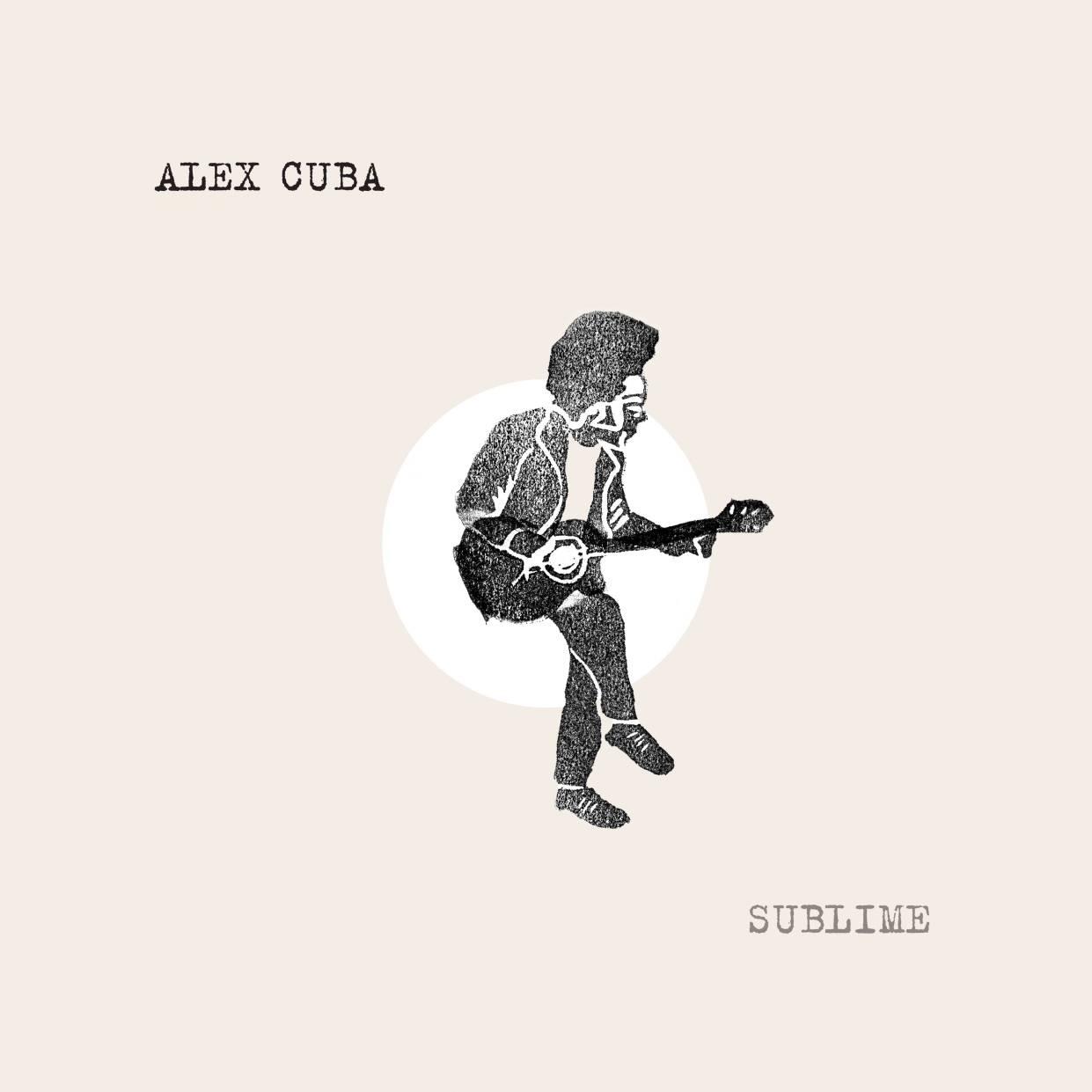 Portada del álbum Sublime, de Alex Cuba. Arte original de Erin Candela, portada diseñada por Simon Evers.