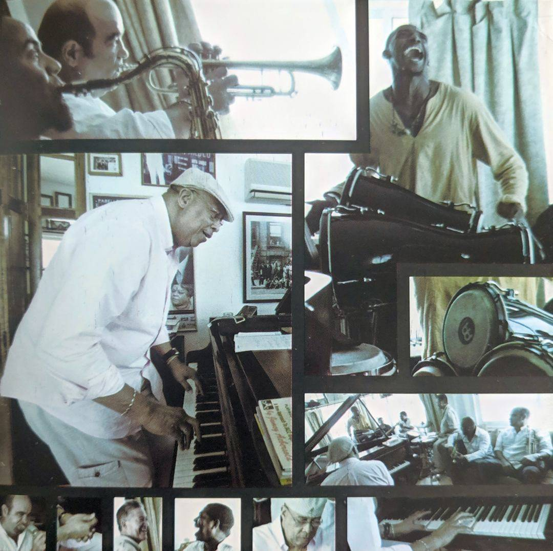 Interiores del álbum Chucho's Steps, de Chucho Valdés y Afro Cuban Messengers. Fotos: Alejandro Pérez.
