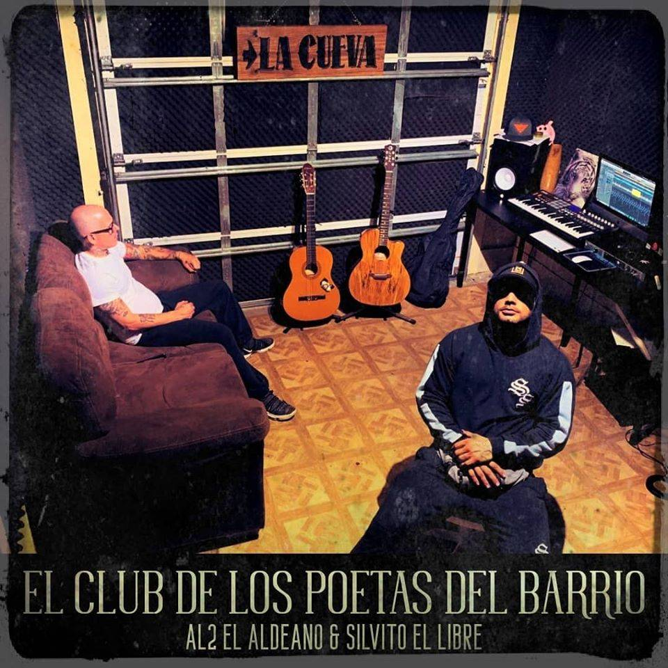Cover of the álbum El Club de los poetas del barrio.