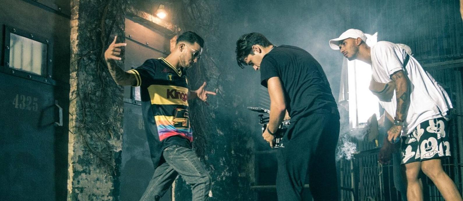 Recvoluxion Boyz en acción. Foto tomada de las redes sociales del proyecto.