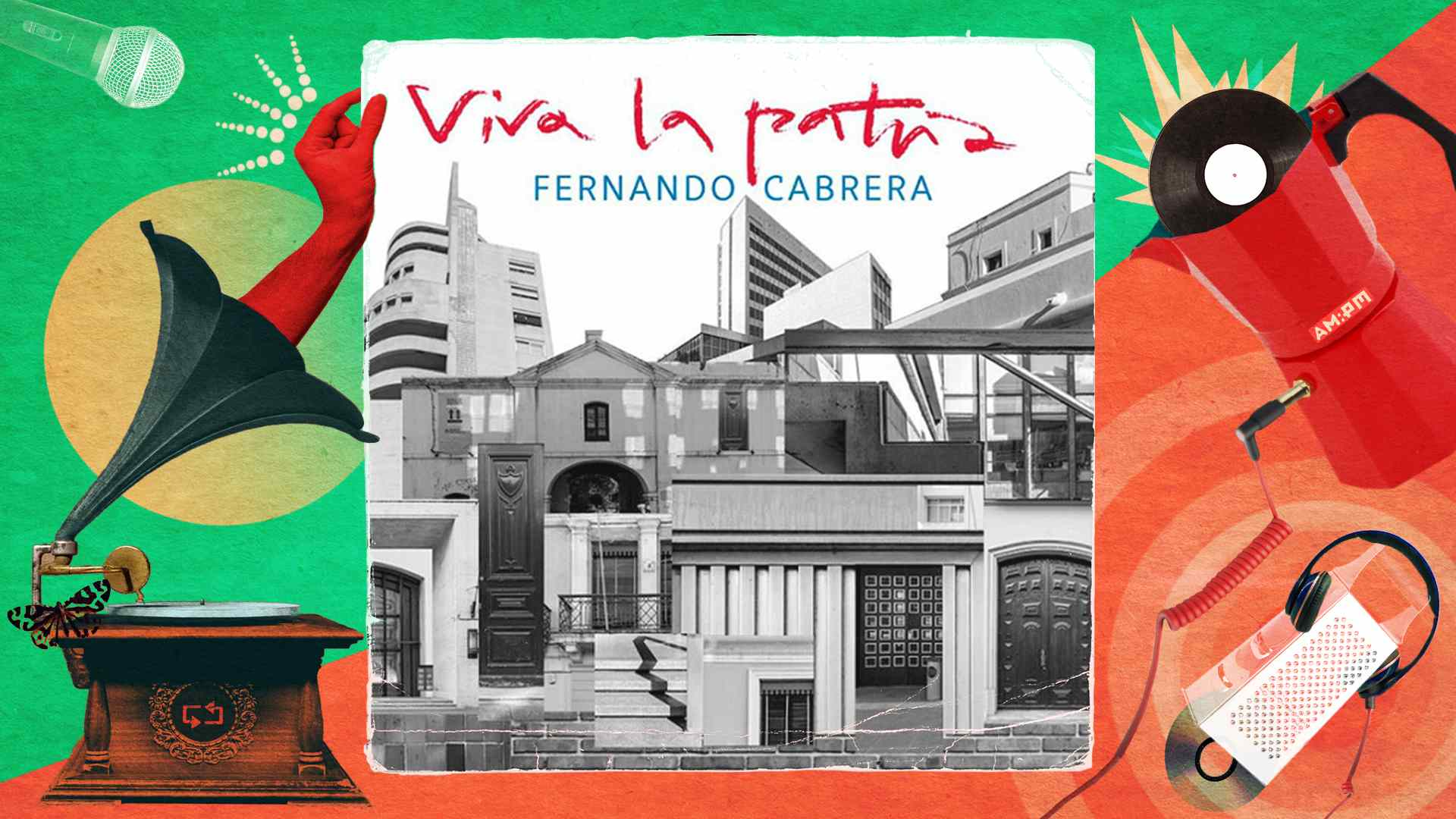 Diseño: Jennifer Ancizar, a partir de la portada del álbum Viva la patria.