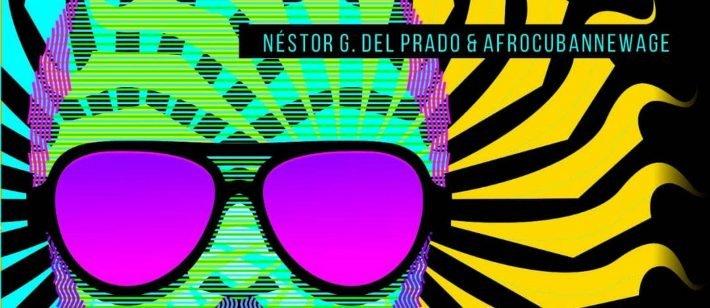 Detalle de la portada del álbum Clásicos al jazz. Diseño: Nelson Ponce.