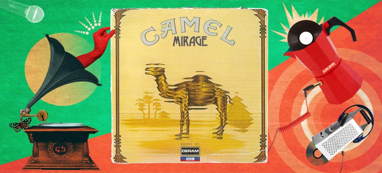 Camel. Diseño: Jennifer Ancízar / Magazine AM:PM.