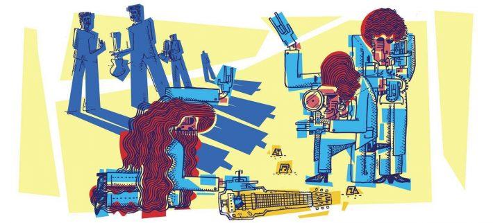 Los Llopis. Ilustración: Rubén Cabrera (Cabra).