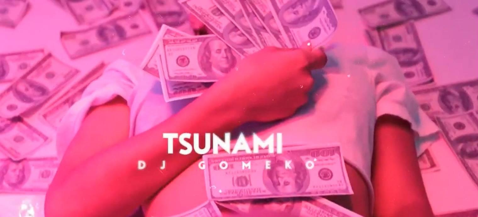 Fotograma del video de presentación de Tsunami.