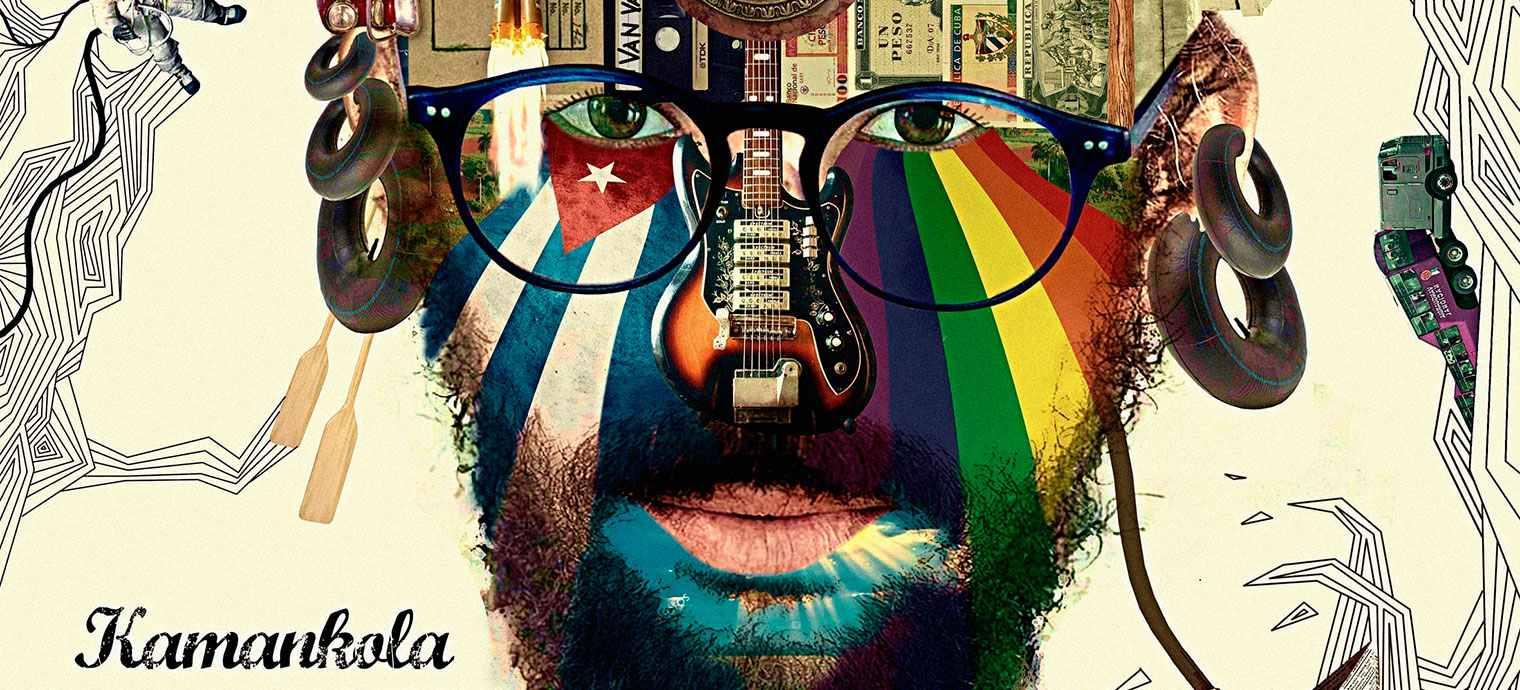 Fragmento de la portada del álbum Desde dentro, de Kamankola.