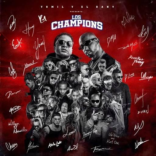 Portada del álbum Los Champions.