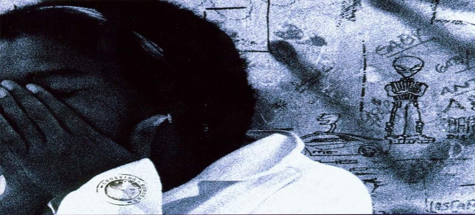 Fragmento de la portada del álbum Yusa.